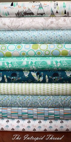 Indian Summer in Spirit Lake for Fridays Fabric Giveaway with the Intrepid Thread by maureencracknell, via Flickr  @Ishaan Sharma!!!