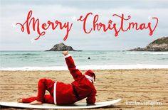 Merry Christmas ...  #Christmas #AnnsCottage #BornbytheSea #Santa #Crantock #Newquay