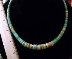 Navajo Indian Jewelry Graduated Necklace
