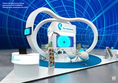 Rostelecom exhibition stand concept on Behance