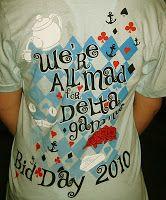 Delta Gamma Beta Chapter: Delta Gamma Wonderland ~ Bid Day 2010