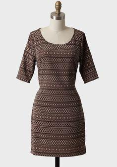 Nebraska Dusk Printed Dress | Modern Vintage Dresses