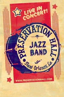 Preservation hall jazz band poster