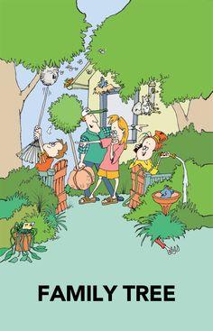 Family Tree by Signe Wilkinson   http://gocomics.com/familytree   #comics #family #humor   © Signe Wilkinson