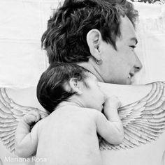 С появлением детей вырастают крылья| Папа Супергерой| Папа и Сын| Папа и Дочка