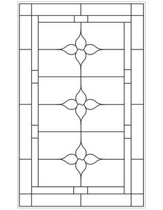 ★ Stained Glass Patterns for FREE ★ glass pattern 902 ★