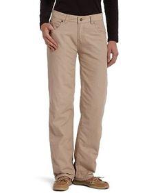 Woolrich Women's Modern-Fit Flannel-Lined Pants, KHAKI (Beige), Size 12 Woolrich. $79.00