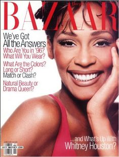 Magazine photos featuring Harpers Bazaar Magazine [United States] (January on the cover. Harpers Bazaar Magazine [United States] (January magazine cover photos, back issues and newstand editions. Beverly Hills, Beautiful Voice, Black Is Beautiful, Michael Jackson, Whitney Houston Pictures, I Look To You, Happy Birthday To Us, Female Singers, Mariah Carey