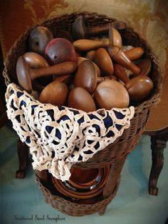 Scattered Seed Samplers: The Early Workbasket ~ Darners