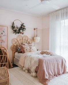 cute room decor and bedroom ideas for little girl you are looking for page 4 Dream Rooms, Dream Bedroom, Home Bedroom, Girls Bedroom, Bedroom Ideas, Master Bedroom, White Bedroom Decor, Pretty Bedroom, Bedroom Designs