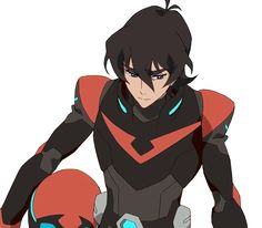 80s voltron   Tumblr I think this might what keith armor might look like if he takes Shiro's spot... :'(
