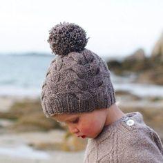 Bonnet à torsades pour enfant et adulte - version fr et version en - rerum natura