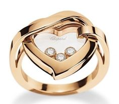 Chopard Happy Diamonds, the diamonds float and spin between 2 planes of crystal…