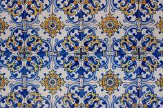 Tiles of Escola Portuguesa de Macau