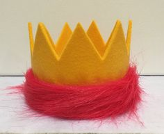 Kion Lion Guard Birthday Crown Lion King by FortuneFavorsTheGold