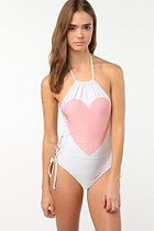 Wildfox Couture Heart Swimsuit  #UrbanOutfitters