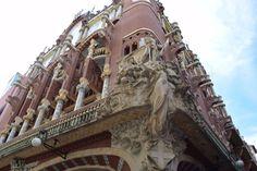 BARCELLONA - Palau de la Musica_Barcellona_Gruppo scultoreo