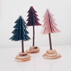 DIY christmas trees by @ladyblogue #grenediy