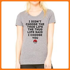 Pokemon Go Thug Life Small Damen T-Shirt