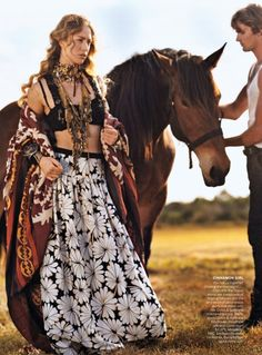 Fashiontography: Summer of Love by Bruce Weber / OBSESSED with this vogue spread. gotta love catching up on magazines over a long weekend.. <3