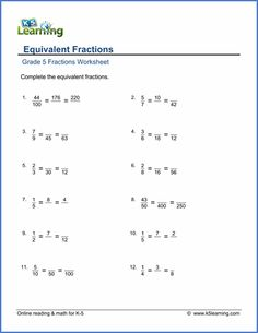 Equal Or Not Equal Worksheets Pdf Add Subtract Fractions With Different Denominators Simplify The  Array Worksheets with Common Nouns Worksheets Excel Grade  Equivalent Fractions Worksheet Elementary Geometry Worksheets Excel