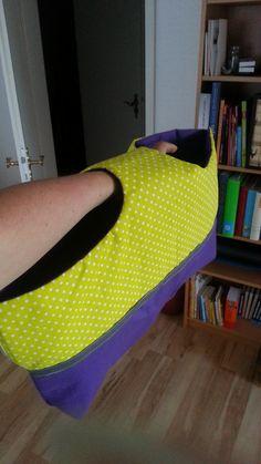 Tasche aus einem Stück ...eigentlich... Maße 25x50 mal 2 plus Griff
