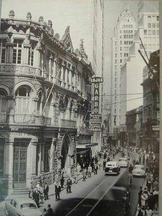 1960 - Rua Quinze de Novembro em São Paulo - SP.