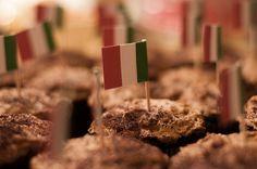 Italian Party Theme Cupcakes