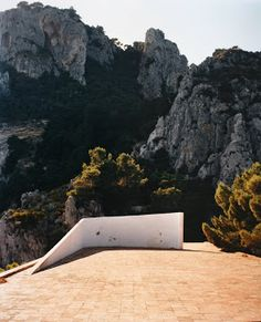 Casa Malaparte photo by Francois Halard.