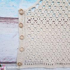 Gilet Crochet, Crochet Stitches, Knit Crochet, Crochet Summer Tops, Crochet Crop Top, Stitch Patterns, Crochet Patterns, Finger Crochet, Modern Crochet