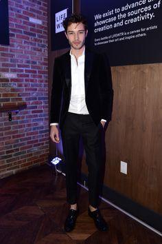Francisco Lachowski Photos - Francisco Lachowski attends The Daily Front Row x LIFEWTR New York Fashion Week opening night at Kola House on February 9, 2017 in New York City. - The Daily Front Row x LIFEWTR New York Fashion Week Opening Night