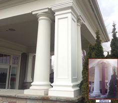 13 Best Porch Column Wraps images   Front porch posts, Porch column