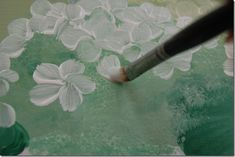 Painting Hydrangeas in a Basket