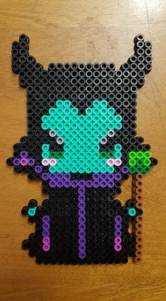Maleficent perler beads by LadyRaveicorn