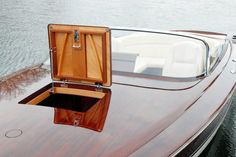 Yacht tender built by Van Dam Custom Boats.    RANDY GOSS photo