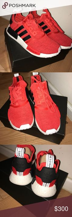 competitive price 44737 9fea6 Red NMDs    WHOLE CLOSET BUY 2 GET 1 FREE!    Brand new with box  rare find  red NMD R1 originals    WHOLE CLOSET BUY 2 GET 1 FREE!    adidas Shoes  Sneakers