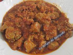 AGNELLO ALLA MAROCCHINA    CLICCA QUI PER LA RICETTA http://www.loscrignodelbuongusto.com/altre-ricette/ricette-estero/649-agnello-alla-marocchina.html
