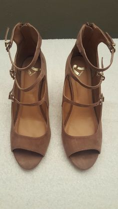 158c3a0fde Report Womens Sz 7.5 Pink Wedges Strappy Sandals Shoes #fashion #clothing  #shoes #
