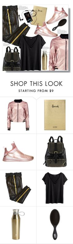 """""""Sporty Look"""" by queenvirgo ❤ liked on Polyvore featuring Boohoo, Harrods, Puma, Diophy, Emilio Pucci, H&M and Core Home"""