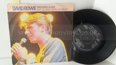 DAVID BOWIE breaking glass, 7 inch single, BOW 520 - SINGLES all genres, Including PICTURE DISCS, DIE-CUT, 7