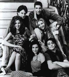 Jennifer Aniston as Rachel Green Courteney Cox as Monica Geller Lisa Kudrow as Phoebe Buffay Matt LeBlanc as Joey Tribbiani Matthew Perry as Chandler Bing David Schwimmer as Dr. Tv: Friends, Serie Friends, Friends Cast, Friends Episodes, Friends Moments, I Love My Friends, Friends Forever, Funny Friends, Close Friends