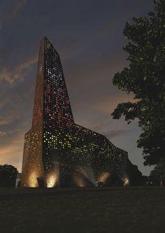 Проект. Мусоросжигательный завод в Роскилле © Designed by Erick van Egeraat