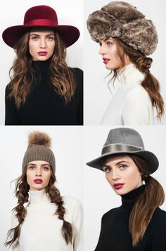 Hairstyles for Wearing Hats