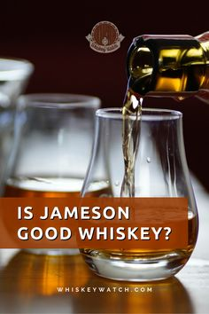I'm sure you have noticed Jameson in every bar and party you have attended, but is it really that good? - Yes, it is! Jameson is one of the most consumed Irish whiskeys there are, and there are plenty of different labels for every whiskey lover. Right now, I'm going to tell you all about its produce, and compare it to another rival - The Jack Daniels No.7 Tennessee Whiskey. #whiskeywatch #jamesonirishwhiskey #jamesonwhiskeydrinks #jamesondrinks #jamesonandginger #jamesoncocktails #