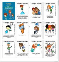 Tarjetas de Unicef para recortar y celebrar el Día de los Derechos del Niño (20 de noviembre).