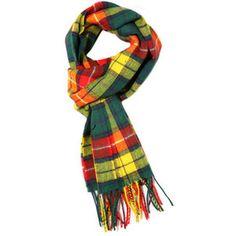 Buchanan Plaid- my Grandmother's Scottish family plaid. Her mother was born in Edinburgh.