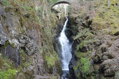 "Aira Force - comes from the Scandinavian ""Eure"" (water) and ""Foss"" (fall) - hence ""waterfall""."