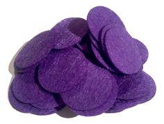 "1"" purple felt circles / 25-50 pieces"