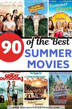 The ultimate list of the best summer movies to watch this summer! Have a fun movie night while watching your favorite classic summer movies. This list includes comedy and romantic flicks, and even som Classic Comedy Movies, Comedy Movies List, Good Movies On Netflix, Good Movies To Watch, Movie List, Classic Movies For Kids, Fiction Movies, Science Fiction, Movies For Tweens
