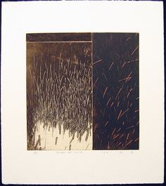 Takahiko Hayashi. Tokuyama Village - Wind Filled Roots Etching